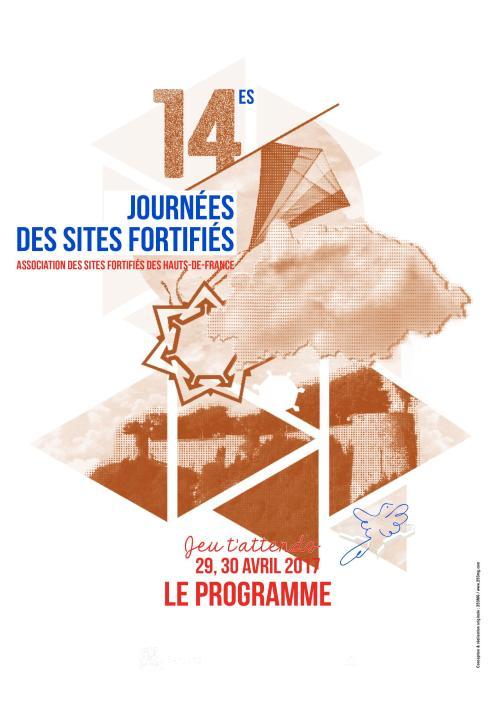 Visuel des Journées des sites fortifiés 2017©Association des sites fortifiés DR