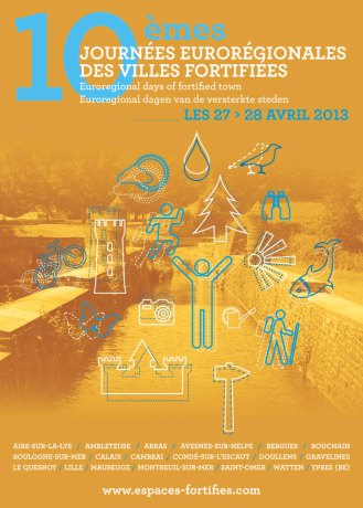 Visuel des Journées des sites fortifiés 2013©Association des sites fortifiés DR