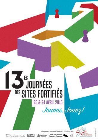 Visuel des Journées des sites fortifiés 2016©Association des sites fortifiés DR