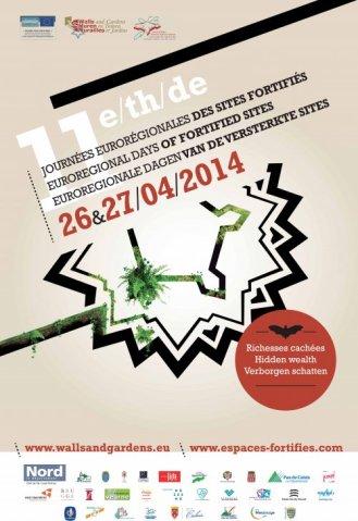 Visuel des Journées des sites fortifiés 2014©Association des sites fortifiés DR