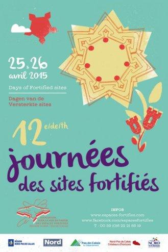 Visuel des Journées des sites fortifiés 2015©Association des sites fortifiés DR