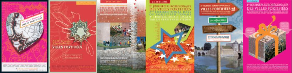 Visuels des Journées des villes et sites fortifiés©Association des sites fortifiés DR