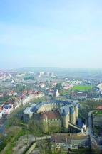 Boulogne-sur-Mer, vue aérienne du château©Ville de Boulogne DR