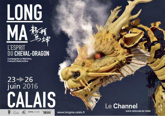CALAIS : Long Ma, le Cheval-dragon! / du 23 au 26 juin2016