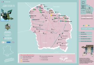 Carte du réseaufortifié