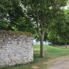 muraille rénové